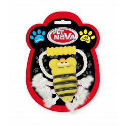 PET NOVA Zabawka dla Psa Pszczoła na Sznurku 26cm