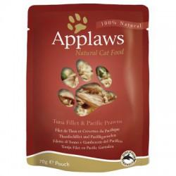 Applaws - Tuńczyk z krewetkami - 70g