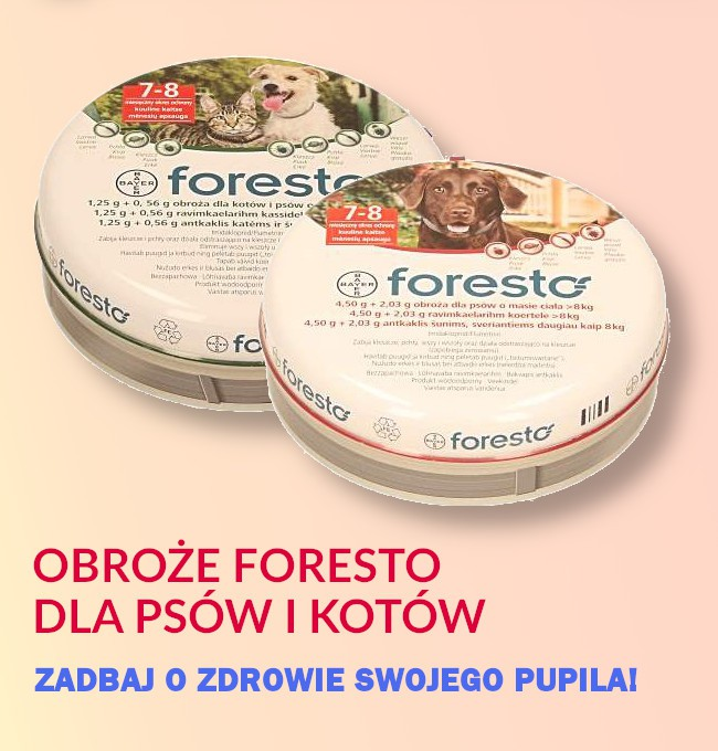 Obroże Foresto